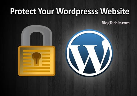 secure wordpress blog website
